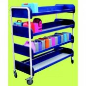 Large Double Sided 80 Lunch Box Storage & Transportation Trolley