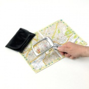 Folding LED Rectangular Magnifier
