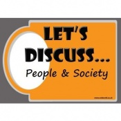 Let's Discuss People and Society Discussion Cards