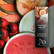Liberty Flights Fruit E-Liquid - Twisted Melon