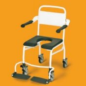 Linido Mobile Shower and Toilet Chair