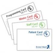 Bristol Maid Easy Clean Polymer Bedside Cabinet Lock Cards
