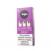 Logic Pro Refill Capsules Berry Mint 12mg