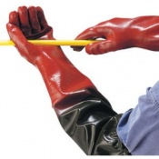 Polyco Long John PVC Coated Chemical Resistant Safety Glove (36 pairs)