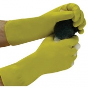 Polyco Matrix Household Lightweight Natural Rubber Chemical Resistant Safety Glove (144 Pairs)