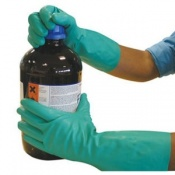 Polyco Matrix Nitri-Chem Nitrile Synthetic Rubber Chemical Resistant Safety Glove (144 Pairs)