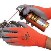 Polyco Matrix Red N Nitrile Coated Safety Gloves (144 Pairs)