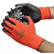 Polyco Matrix Red PU Seamless Knitted Safety Gloves (144 Pairs)