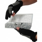 Mechanics Handling Gloves - 3 Fingers Enclosed