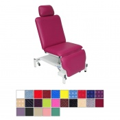 Medi-Plinth Single Column Drop End Split-Leg Podiatry Chair (Non-Tilting)