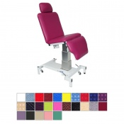 Medi-Plinth Tilting Single Column Drop End Medical Chair