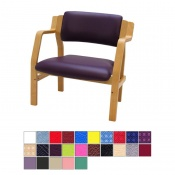 Medi-Plinth Wooden Frame Bariatric Waiting Room Chair