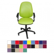 Medi-Plinth Operators Chair with Armrests
