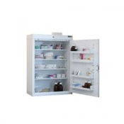 Medicine Cabinet with 4 Shelves and 4 Trays