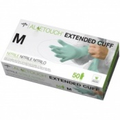 Medline Aloetouch Extended Cuff Chemo Nitrile Exam Gloves Case of 2000