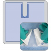 Medline Invisishield Poly U Drape  (Pack of 40)