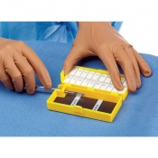 Medline Gold Standard Needle Counter with Blade Remover (Pack of 50)