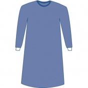 Medline Prevention Plus Blue Procedure Gown (Pack of 30)