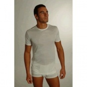DermaSilk Mens Short Sleeve Top