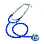 Merlin Medical Dual Head Stethoscope - Blue
