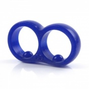 The Moderator Ring in Cobalt Blue