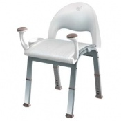 Moen Home Care Glacier Shower Chair with Handles