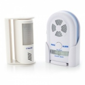 PIR Motion Sensor and Voice Alert Alarm System