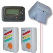 Multiple Room Call Alert Pager System