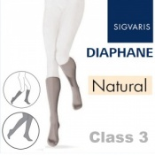 Sigvaris Diaphane Calf Class 3 Natural Compression Stockings