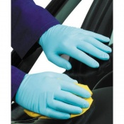 Polyco Nitra Fine Nitrile Powder Free Disposable Safety Gloves (1000 Gloves)