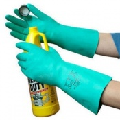 Polyco Nitri-Tech II Chemical Resistant Safety Glove (48 Pairs)