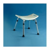 Ocean Shower Stool with Contoured Seat