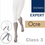 Sigvaris Expert for Women Calf Class 3 Ocre Compression Stockings