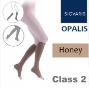 Sigvaris Opalis Calf Class 2 Honey Compression Stockings