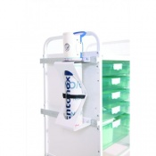 Oxygen Bottle Holder for Sunflower Medical Vista Storage Trolleys