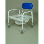 Peadiatric Commode With Flat Seat