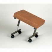 Padded Leg Rest with Castors