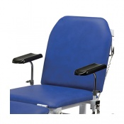 Pair of Height-Adjustable Armrests for Bristol Maid Treatment and Examination Couches