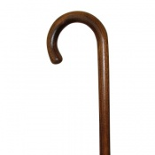 Elm Crook Handle Walking Stick
