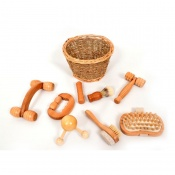 PlayLearn Massage Basket