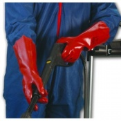 Polyco Polygen Plus PVC Coated Chemical Resistant Safety Gauntlet