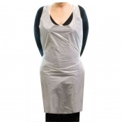 Polythene Aprons for Biohazard Clean-Up (Pack of 100)