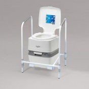 Homecraft Stand and Frame for Porta Potti 165 Flushing Toilet