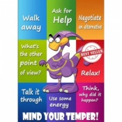 Mind Your Temper Poster Pack