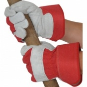 Premium Rigger Leather Handling Gloves