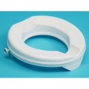 Derby Prima Raised Super Toilet Seat 2''/5cm No Lid
