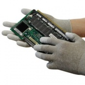 Polyco Pure Dex Anti-Static Seamless Knitted Nylon Inspection Safety Gloves (100 Pairs)