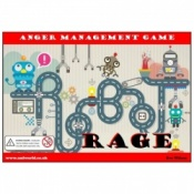 Robot Rage Anger Management Board Game