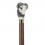 Ram's Head Collectors' Walking Stick