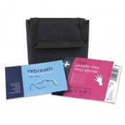 Rebreath Resuscitation Kit in Belt Pouch